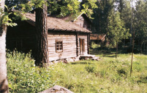 Finnish smoke house